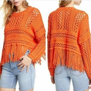 NEW $168 Free People Higher Love Pullover Sweater